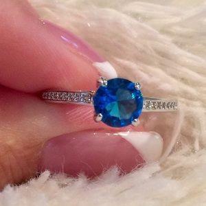 Jewelry - London Blue Topaz ring